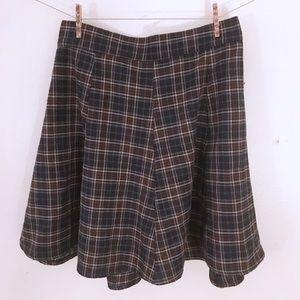 Rare Brandy Melville plaid skirt